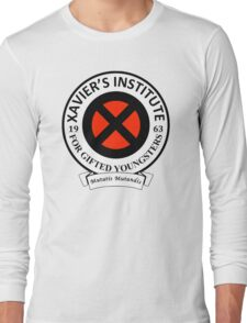 Xavier's Institute for Gifted Youngsters Long Sleeve T-Shirt