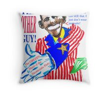 Obama, the Other Guy Throw Pillow