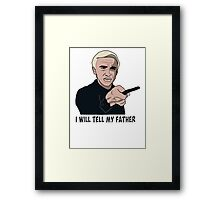 I will tell my father Framed Print