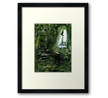 The Chapel in the Woods Framed Print