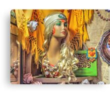 The Boutique Corner Canvas Print