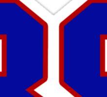 National baseball player Jimmy Gobble jersey 39 Sticker