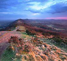 Last Light on the Malvern Hills by Celtic Mystery