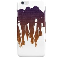 sprint line iPhone Case/Skin