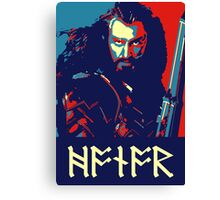 Thorin Oeakenshield - Honor Canvas Print