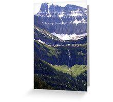 Glacial Grandeur Greeting Card