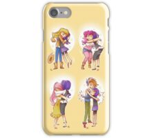 The Art Of Hugging iPhone Case/Skin