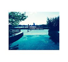 Jogger in Spring, Manhattan by MissCellaneous