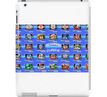 Classic Megaman Bosses  iPad Case/Skin