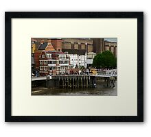 Shakespeare Globe Centre in London Framed Print