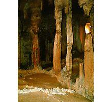 Grutas De La Estrella - Cave Formation 3 Photographic Print