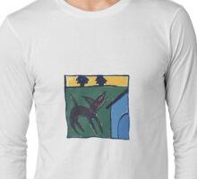 DOG HOUSE ART Long Sleeve T-Shirt