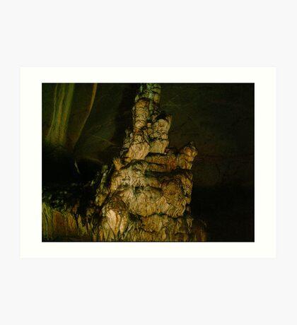Grutas De La Estrella - Cave Formation  6 Art Print