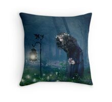 The Fairy Ring Throw Pillow