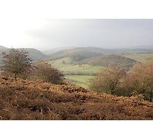 croft ambrey 2,herefordshire Photographic Print