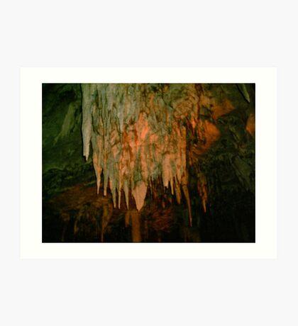 Grutas De La Estrella - Cave Formation 9 Art Print
