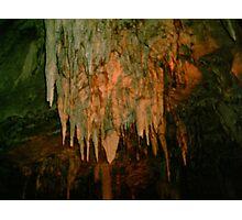 Grutas De La Estrella - Cave Formation 9 Photographic Print