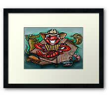Cajun Band Framed Print