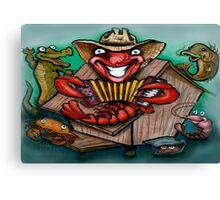 Cajun Band Canvas Print