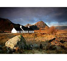 Blackrock Cottage : Glencoe, Highlands Photographic Print