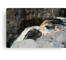 the top of high force Canvas Print