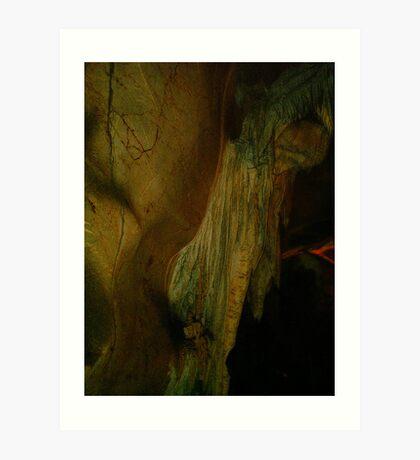 Grutas De La Estrella - Cave Formation  11 Art Print