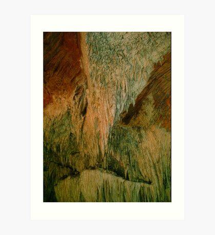 Grutas De La Estrella - Cave Formation  14 Art Print