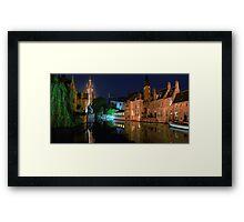 Bruges! Framed Print