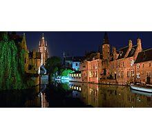 Bruges! Photographic Print