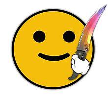 CS: GO Flip Knife Fade by Fangs