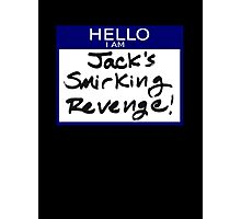 "Fight Club- ""I AM JACK'S SMIRKING REVENGE"" Photographic Print"