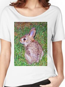 little baby bunny 2  Women's Relaxed Fit T-Shirt