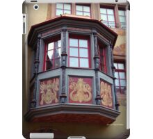 Swiss Window Box iPad Case/Skin