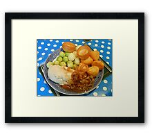 Christmas Dinner, 2014 Framed Print