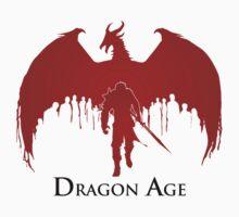 Dragon Age 2 Dragon and Hawke T-Shirt