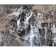 Ice Cold Spring Water Photographic Print