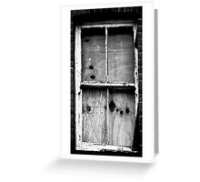 Squatters Out! Greeting Card