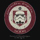 Galactic Empire Soda (Juggernog)  by Designsbytopher