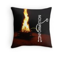 Information Leak Throw Pillow