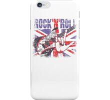 Rock n Roll Union Jack iPhone Case/Skin