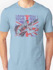 Rock n Roll Union Jack Unisex T-Shirt