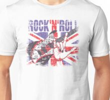 Rock n Roll Union Jack Unisex T-Shirt