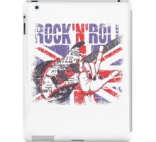 Rock n Roll Union Jack iPad Case/Skin