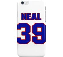 National baseball player Blaine Neal jersey 39 iPhone Case/Skin