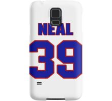 National baseball player Blaine Neal jersey 39 Samsung Galaxy Case/Skin