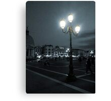 Lantern in Venice Canvas Print