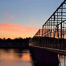 Walnut sunset. by Jeff  Wiles
