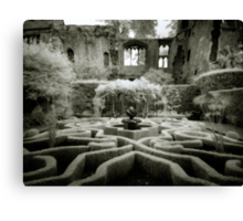 Haunted Ruins Canvas Print