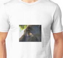 Alsatian German Shepherd Black eye Unisex T-Shirt