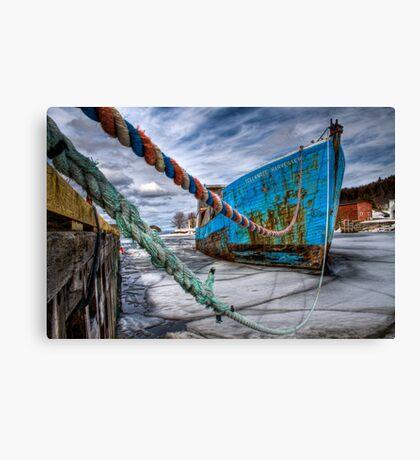 Ice Breaker Canvas Print